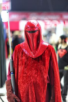 Niels Maclellan Emperor's Royal Guard Star Wars 2014 Phoenix Comicon Fan Fest