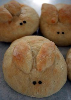 Bunny Bread  | Easter Bread Ideas