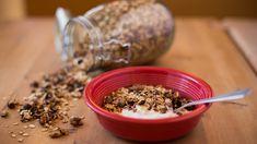 Gyllen frokostblanding Omelette, Scones, Korn, Cereal, Oatmeal, Sandwiches, Berries, Breakfast, Lunches