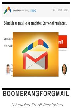Boomerang for Gmail - Schedule an Email and Great Apps, Virtual Assistant, Productivity, Schedule, Learning, Timeline, Studying, Teaching, Onderwijs