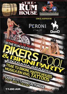 Bikers Pool & Bikini Party @ The Rum House, Río Grande