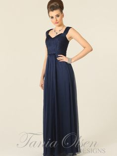 Yasmin Navy dress by Tania Olsen