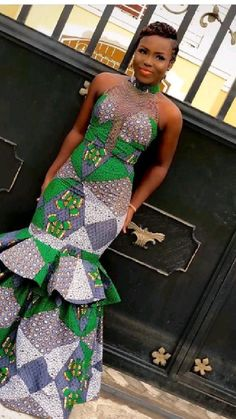 African Party Dresses, Short African Dresses, Latest African Fashion Dresses, African Print Fashion, Long Ankara Dresses, Couples African Outfits, African Attire, African Fashion Traditional, Shweshwe Dresses