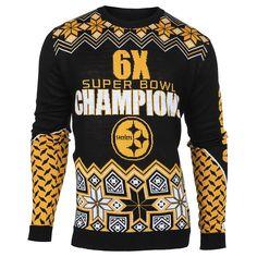 Pittsburgh Steelers Super Bowl Commemorative Crew Neck Sweater