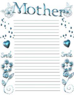 Childrens Gems In My Treasure Box: Write Something For Mom