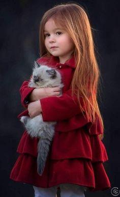 Great tenderness 💗 animals for kids, baby animals, animals and pets, cute So Cute Baby, Cute Kids, Cute Little Girls, Baby Girls, Precious Children, Beautiful Children, Beautiful Babies, Little People, Little Ones