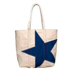 Blue Star Tote by Sea Bags