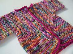 Elizabeth Zimmerman Baby Surprise Jacket - knit in one piece!