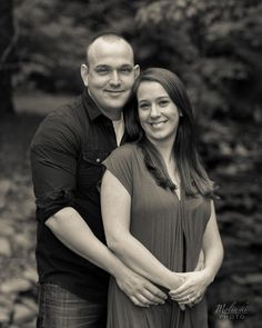A couple in a wooded area. Copyright Photographics Solution 2013