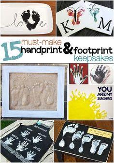 15 Must-Make Handprint & Footprint Crafts - The Realistic Mama