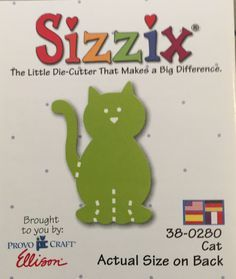 Sizzix Provo Craft Ellison Scrapbooking Sizzlits Set Your Choice Camp Fish ++