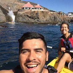 La Bufadora selfie! Explore the waters on Kayak and live #Ensenada, #BajaCalifornia awaits!  -Adventure by Toño Ballesteros