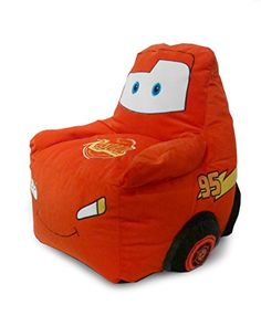 Disney Cars Figural Bean Bag Sofa Chair * Check out this great product.Note:It is affiliate link to Amazon. #KidsroomDecoration