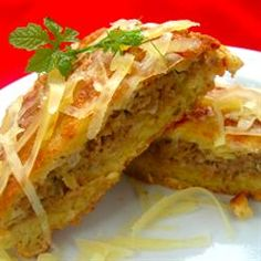 Potato Pancakes with Mince