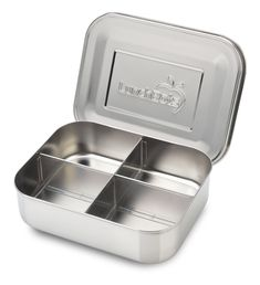 LunchBots Quad Stainless Steel Food Container