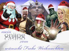 Bevor sich unsere Leser in die Feiertage bzw. auf die Gans stürzen, schicken wir schnell unsere Weihnachtsgrüße vor! Also: MeinOnlineCasino.com wünscht euch FROHE #WEIHNACHTEN 2015 - lasst es mächtig krachen oder eben ganz ruhig angehen ;-)