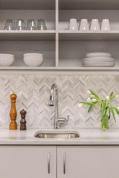 Taupe Arabesque Glass Mosaic Tiles Kitchen Pinterest Tiles - Akdo tile online