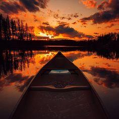 A brilliant sunset from Vernon in BC's North Okanagan.   (photo: @sndon via Instagram)  #exploreBC #explorecanada