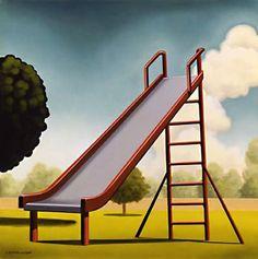 Play Room: Slide -Kenton Nelson