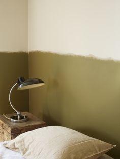 Forget blue tape, go for artistic paint line! Peinture / Main levée