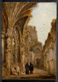 Claustro en ruinas del monasterio de San Juan de los Reyes, Toledo