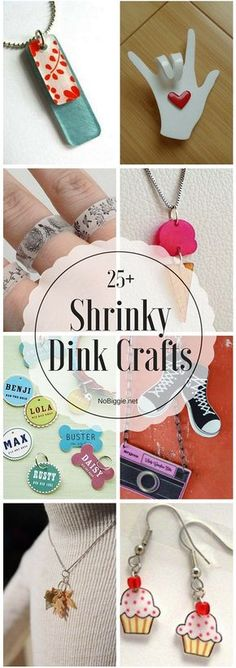 25+ Shrinky Dink Crafts | NoBiggie.net