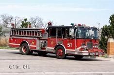 1995 Spartan/ Luverne pumper.  Engine 51 Chicago Fire tv show.