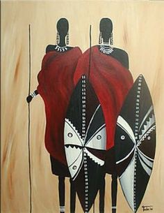 African Art gallery for African Culture artwork, abstract art, contemporary art daily, fine art, paintings for sale and modern art African Art Paintings, African Artwork, Afrique Art, African Quilts, Art Tribal, African Theme, African American Art, African Culture, Black Art