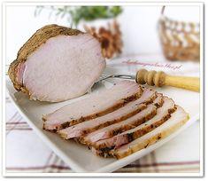 rewelacyjny schab gotowany Polish Recipes, Meat Recipes, Chicken Recipes, Cooking Recipes, Queens Food, Smoking Meat, Charcuterie, Food To Make, Main Dishes