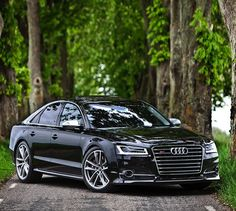 The big hungry wolf , in the forest road. Car: 2016 Audi S8 plus (605hp, V8 4.0 twin turbo) Performance 0-100kmh(62mph): 3.35sec (tested), 3.8sec (official)