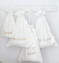 Need these for the cottage. The White Company, Organize Your Life, Life Is Beautiful, Bathroom Hooks, Laundry Bags, Laundry Rooms, Bright Ideas, Mudroom, Champagne