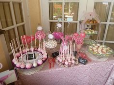 Candy station--theme it for Christmas and have at our party! Candy Stations, 10th Birthday, Shower Ideas, Bridal Shower, Cake, Party, Desserts, Christmas, 10 Year Anniversary