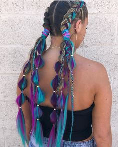 Festival Hair Ideas, So You Can Whip Your Hair Back and Forth All Weekend Long, - hair - cheveux Box Braids Hairstyles, Down Hairstyles, Festival Hairstyles, Hairstyle Photos, Crazy Hairstyles, Long Haircuts, Casual Hairstyles, Elegant Hairstyles, Long Hairstyles