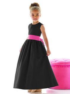 Flower Girl Dress FL4021 http://www.dessy.com/dresses/flowergirl/fl4021/?color=platinum&colorid=64#.VYUG-VJ0wdU