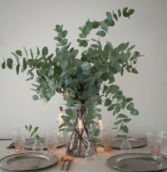 How To Build Your Own Eucalyptus Centrepiece The Social Kitchen is part of Eucalyptus centerpiece - How… Eucalyptus Centerpiece, Succulent Centerpieces, Wedding Table Centerpieces, Wedding Decorations, Star Centerpieces, Greenery Centerpiece, Graduation Centerpiece, Quinceanera Centerpieces, Centrepieces