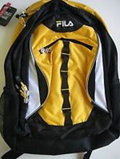 Fila Dome 15 6 in Laptop Backpack Yellow - Click image twice for more info - See a larger selection of yellow backpacks at http://kidsbackpackstore.com/product-category/yellow-backpacks/ - kids, juniors, back to school, kids fashion ideas, teens fashion ideas, school supplies, backpack, bag , teenagers girls , gift ideas, yellow