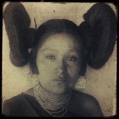 Beautiful young Hopi woman 1901