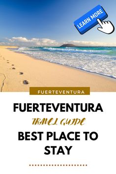 Discover the least windy part of Fuerteventura and enjoy your sunny and wild holiday! Sunny Beach, Beach Fun, Best Fish Restaurant, Have A Nice Trip, Windy Day, Windsurfing, Canary Islands, Sandy Beaches, Beautiful Islands