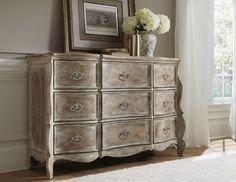 Bonvillian credenza by Accentrics Home by Pulaski Furniture | The Decorating Diva, LLC