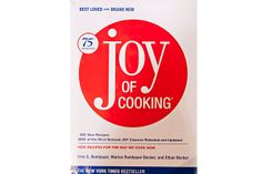 Ten Cookbooks every cook should own. 1. General Cookbook - Joy of Cooking, 75th anniversary edition, by Irma S. Rombauer, Marion Rombauer Becker, and Ethan Becker (Scribner's, 2...