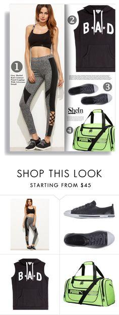 """Shein Leggings"" by tawnee-tnt ❤ liked on Polyvore featuring Prada Sport, Zoe Karssen, Puma and shein"