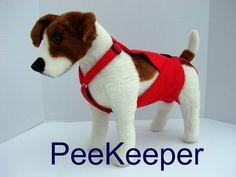 PeeKeeper Escape Proof Dog Diapers for Male and Female in Pet Supplies, Dog Supplies, Diapers & Belly Bands | eBay
