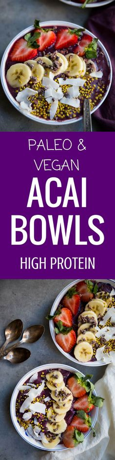 Addicted to acai bowls