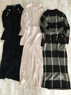 Diva Fashion, Office Fashion, Fashion 2020, Asian Fashion, Womens Fashion, Olive Clothing, Long Skirt Fashion, Fall Outfits, Fashion Outfits