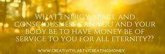 When energy....