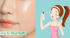 We all want to have glowing spotless skin complexion, which means no acne/pimple, scars on our face. We want all of them, right? Believe us ladies, you can really have this. Today we are going to show you one natural solution, that you can spray it all over your clean face before going to bed... Continue Reading →