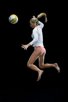 Voleyball; that feeling when your up in the air
