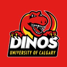 Love the new University of Calgary Dinos logo!