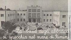 """La """"Casa del bimbo"""" di Miramare di Rimini, sede delle colonie marine delle società telefoniche Stipel, Telve e Timo, 1951"""