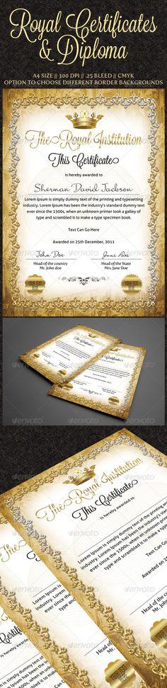 Easy Simple Multipurpose Certificate GD007 Certificate design - business certificates templates